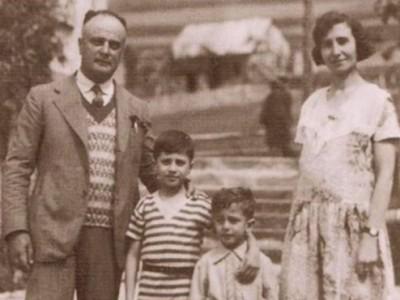 Renzo Mosé Levi e famiglia