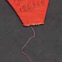 Triangolo rosso di Primo Polizzi nel campo di Mauthausen