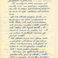 Documento inviato da Enea Foà - padre di Giorgio Nullo e marito di Doralice - nel dopoguerra al Cln. Pagina 2