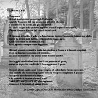 """""""Libera Levi"""", Spoon River - Lorenzo Cagna, Maria Chiara Mancini, Rebecca Graffigna, Giulia Zanacca, 3B Grafica"""