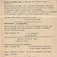 Denunzia di decesso di Gino Ravanetti, conservata in Archivio ANRP Parma (ISREC Parma)
