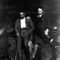 Mario Vigevani e Pellegrino Riccardi