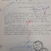 """Fascicolo di Giorgio Nullo Foà, Archivio di Stato di Parma, """"Ebrei della provincia"""" b. 69"""