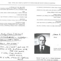 Documento in morte di Samuel Spritzman, 1982. Archivio istituto storico della Resistenza e dell'età contemporanea di Parma, Fondo privato Samuel Spritzman