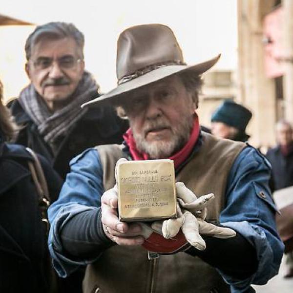 Il progetto Pietre d'inciampo Parma