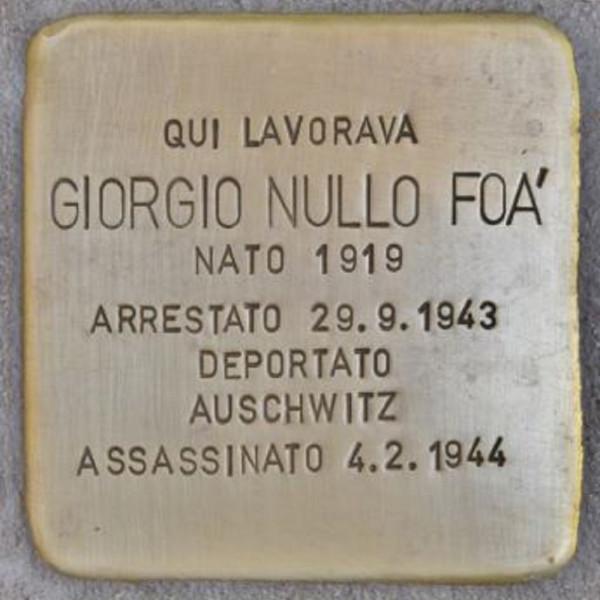 Giorgio Nullo Foà